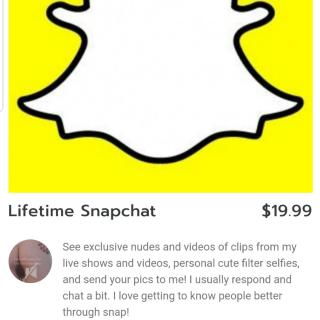 LIFETIME SNAPCHAT! READ DESCRIPTION photo gallery by Eve The Hedon Princess