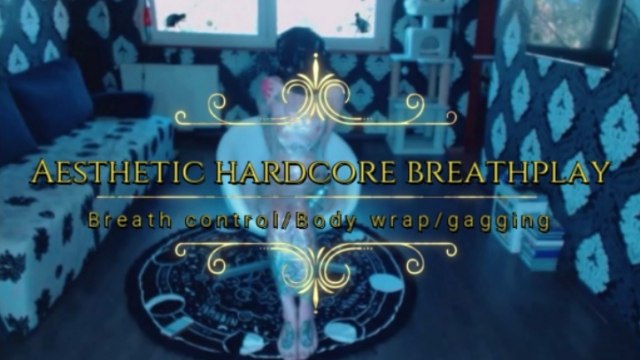 Aesthetic hardcore breathplay video from Hentaidreamgirl