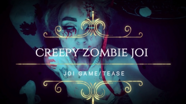 Creepy zombie JOI video from Hentaidreamgirl
