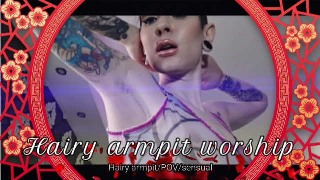 Hairy Armpit Worship And Tease video from Hentaidreamgirl