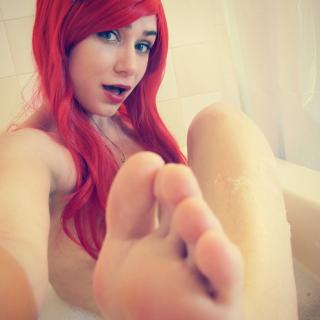 Lil Mermaid Foot Fetish photo gallery by Holo