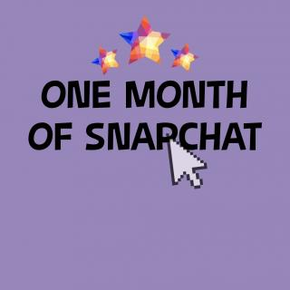 One Month of Snapchat photo gallery by Eliza Bea