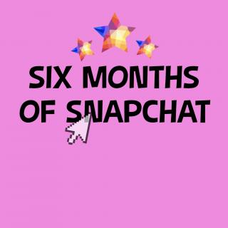 6 Months of Snapchat photo gallery by Eliza Bea