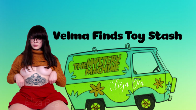 Velma Finds Toy Stash video from Eliza Bea