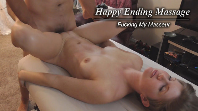 Fucking My Masseur Happy Ending Massage video from HousewifeGinger