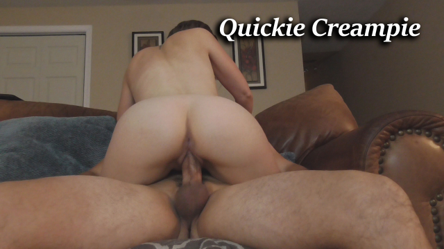 Quick Fuck and Creampie video from HousewifeGinger