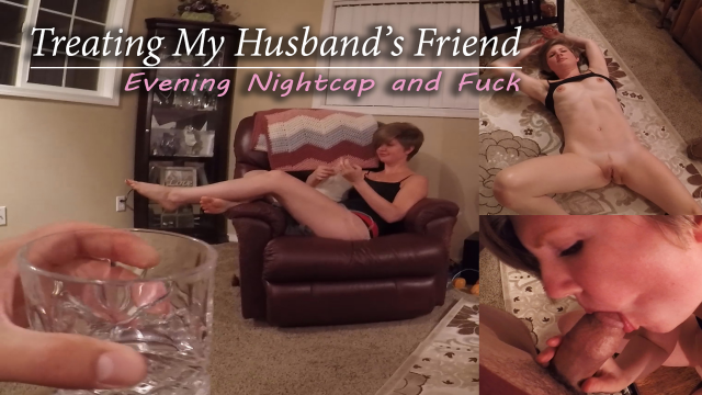 Teasing and Fucking Husband's Friend video from HousewifeGinger