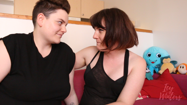 Trans Girl Dominates You with her Girlfriend video by Icy Winters