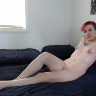 Redheaded Bed Lounging photo gallery by Indy Solo