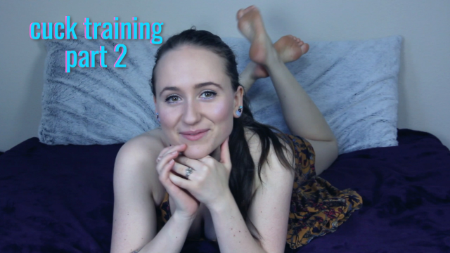 Cuck Training Part 2 video from Lizzie Love