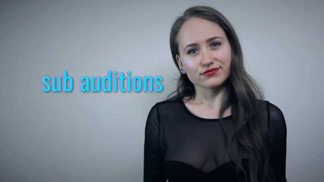 Sub Auditions video from Lizzie Love