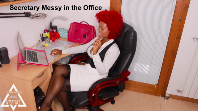 Secretary Messy In The Office video by Ivy Satinee