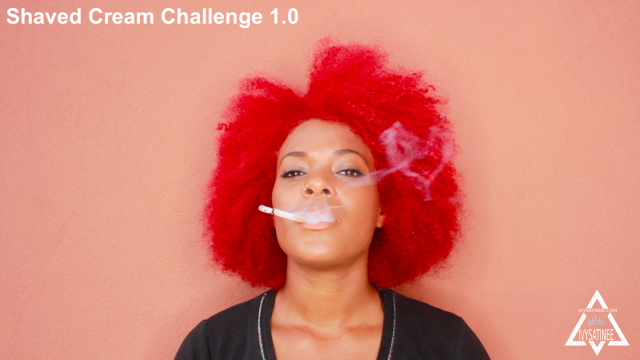 Shaved Cream Challenge 1.0 video by Ivy Satinee