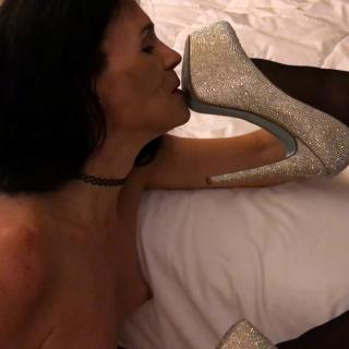 Worshiping The Goddess' Feet photo gallery by Jacquie Blu