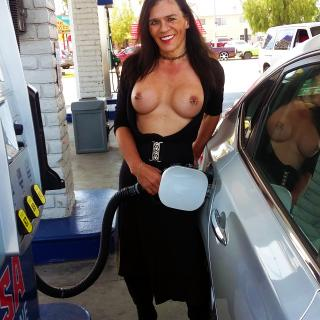 Public Boobs photo gallery by Jacquie Blu