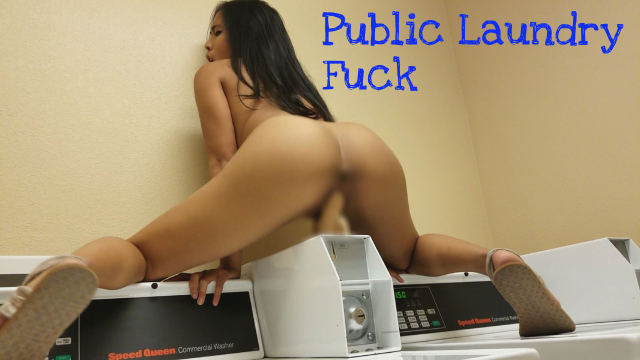 Asian Public Laundry Fuck video from Jada Kai