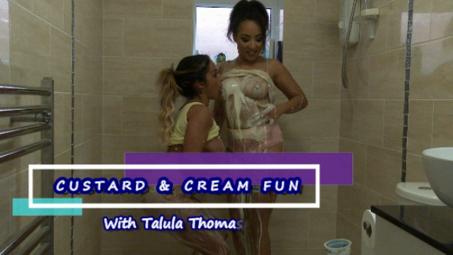Custard and Cream Messy Fun video from Kayla Louise