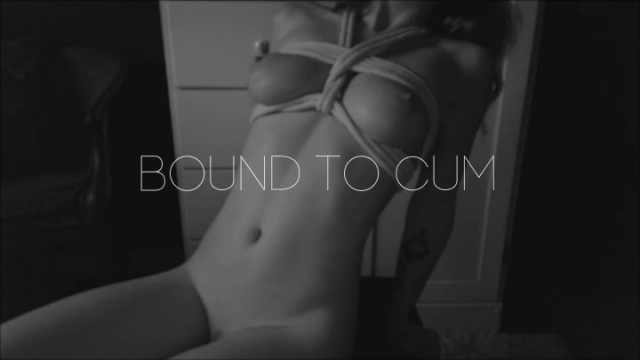 Amateur Porn Video : Bound to Cum