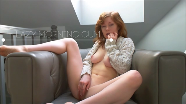 Amateur Porn Video : Lazy Morning Cum