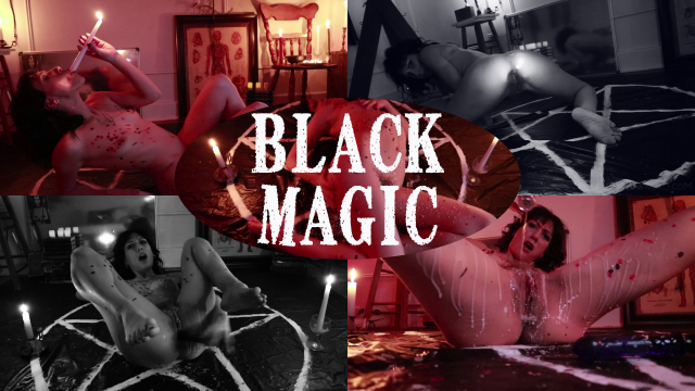 Black Magic Hot Wax Horror Fuck video from Koneko Katana