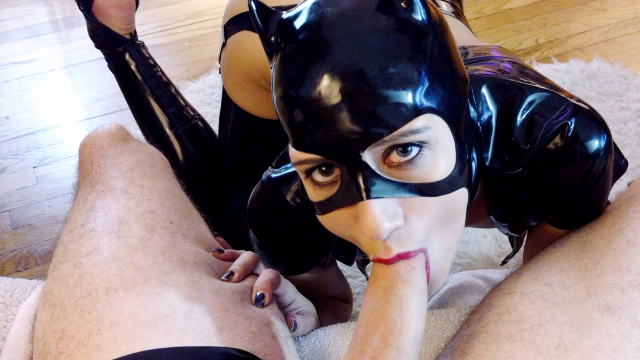 CatWoman FaceFuck video from Koneko Katana