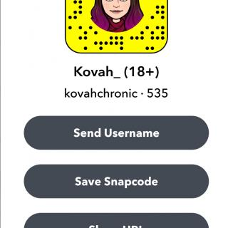 Free Snapchat Subscription photo gallery by Kovah Haze
