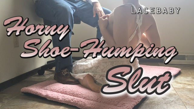 Horny Shoe-Humping Slut video from Lucy