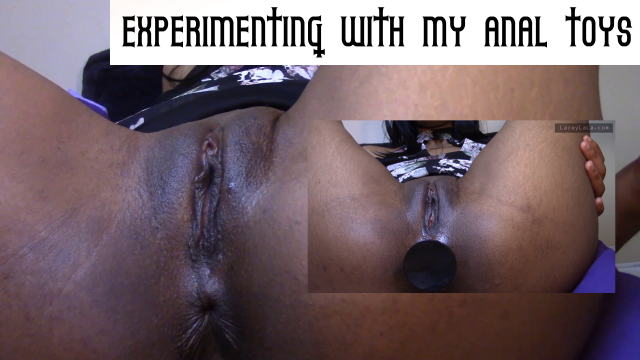 Lacey LaLa Experiments w/ Anal Toys video from Lacey Lala