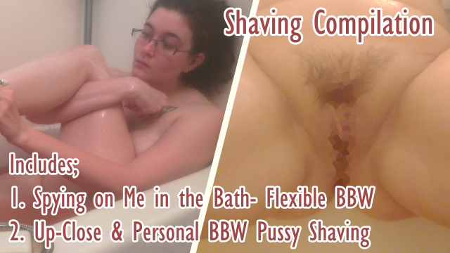 Shaving Compilation- Legs & Pussy video by LadyDeathclaw
