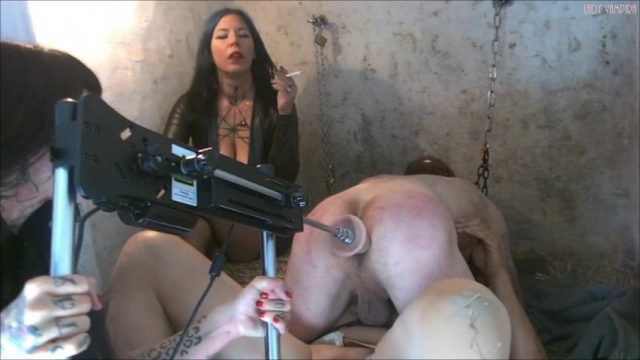 Dungeon in the Femdom Empire Part 3 - Unfuckable! Extension of the prison sentence for Lady Vampira and Lady Raquel video from Ladyvampira