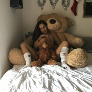 naked teddy bear tease photo gallery by LanaTy
