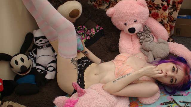 DDLG Little Girl Fucks Herself for Daddy video from Leda Bear