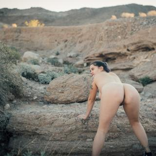 Nakey in The Desert photo gallery by Gem $toned