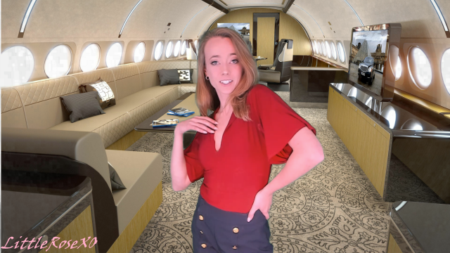 Mile High Airlines 2: VIP Treatment video from LittleRoseXO
