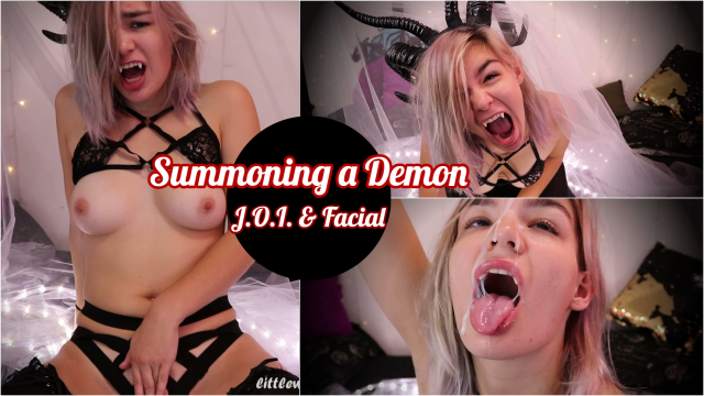 Summoning a Demon - JOI & Facial