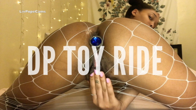 Clit Sucking & DP Riding video by Liv Pope