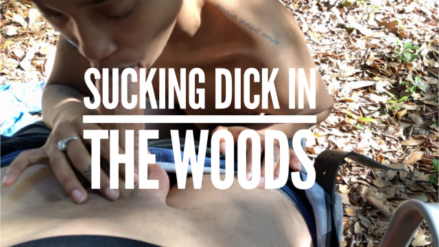 Sucking Dick in the Woods video from Liv Pope