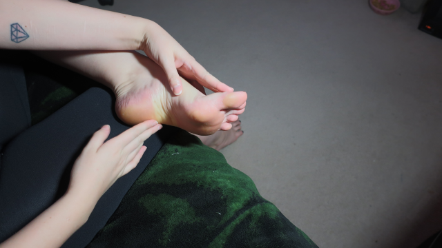 Caring Foot Rub video from LucilleLou