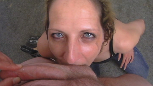 Ball Sucking and Mouth Fucking video from Marie Madison