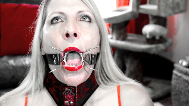 Spider Gag Training video from Marie Madison