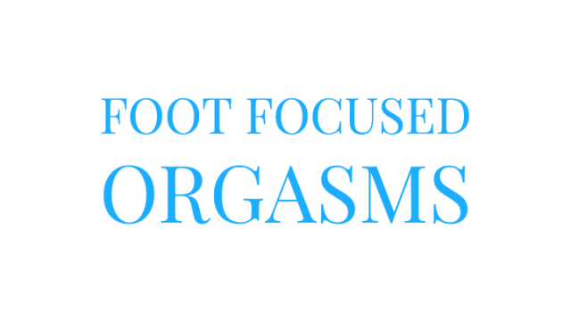 Foot Focused Orgasms video from Mary Moody