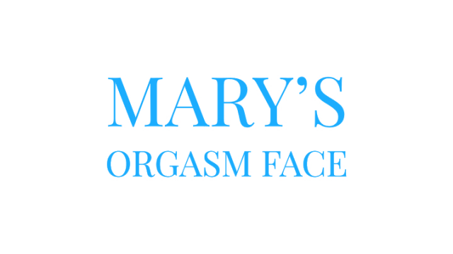 Marys Orgasm Face video from Mary Moody