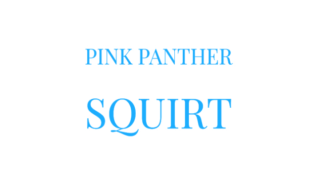 Pink Panther Squirt video from Mary Moody