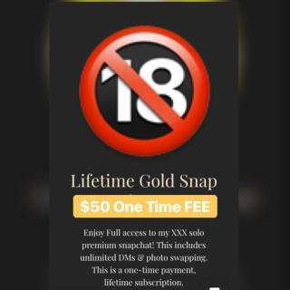 Lifetime premium Snapchat access photo gallery by Melani Cream
