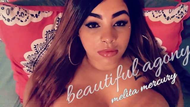 beautiful agony video from Melita Mercury