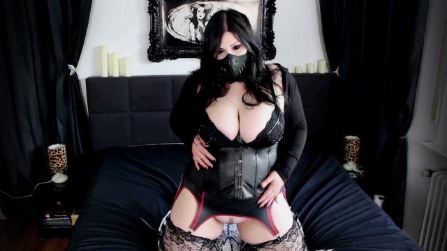 Anal Exorcism for Goth Babe video by Mina Demonic