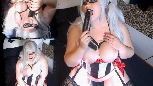 Harley's Dildo Party video from Mina Demonic
