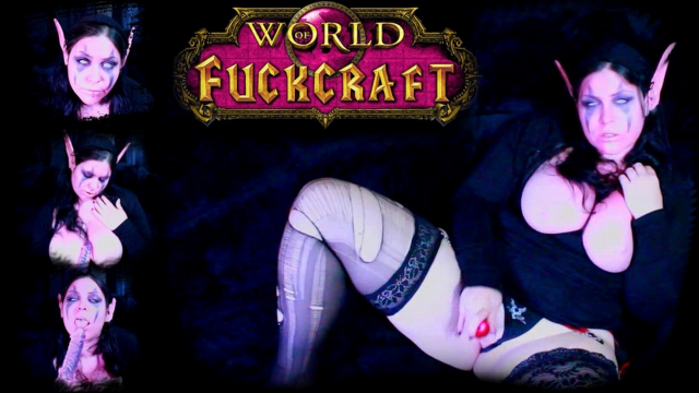 World of Fuckcraft: Night Elf Love Spell video from Mina Demonic
