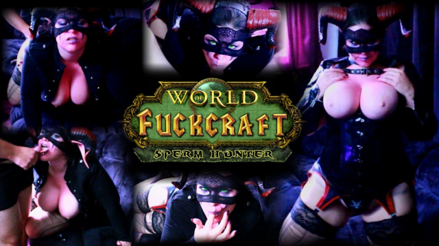 World of Fuckcraft - Sperm hunter video from Mina Demonic