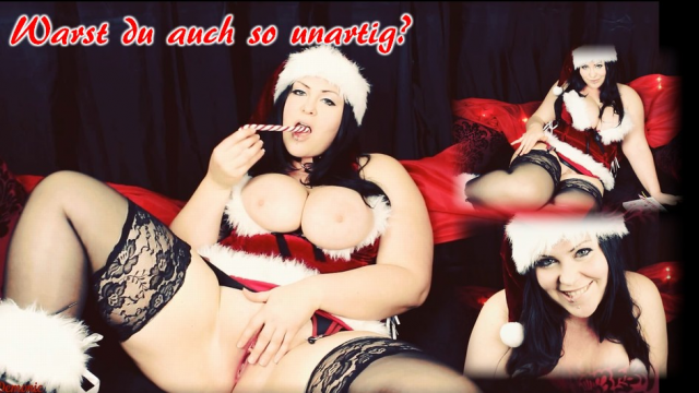 XXXmas JOI – German Dirtytalk video from Mina Demonic